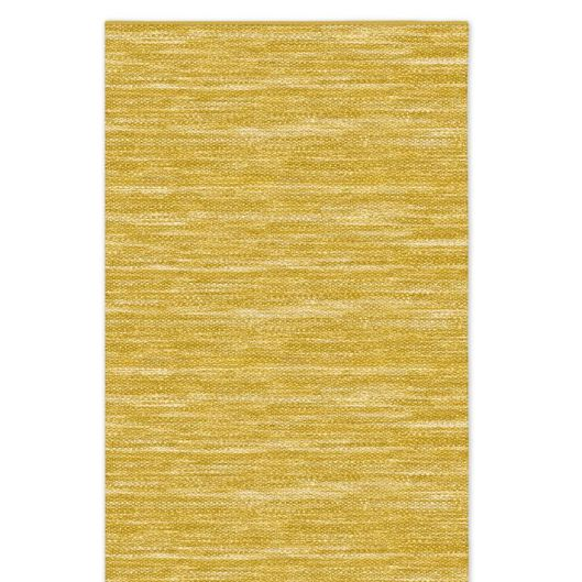 Mustard yellow jute rug from West Elm