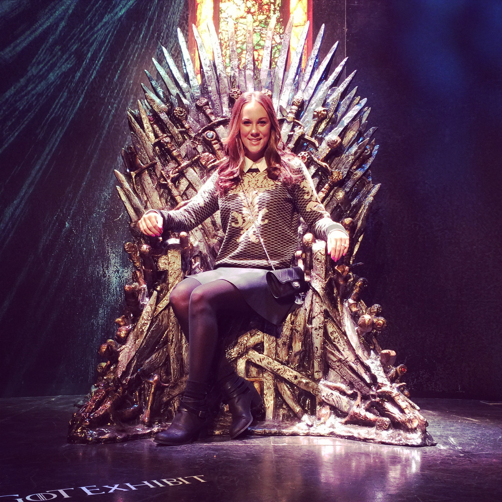 how to make the iron throne
