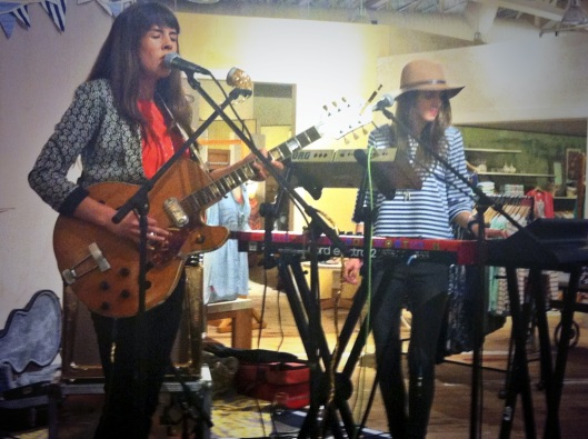 Madi Diaz concert at Anthropologie Austin