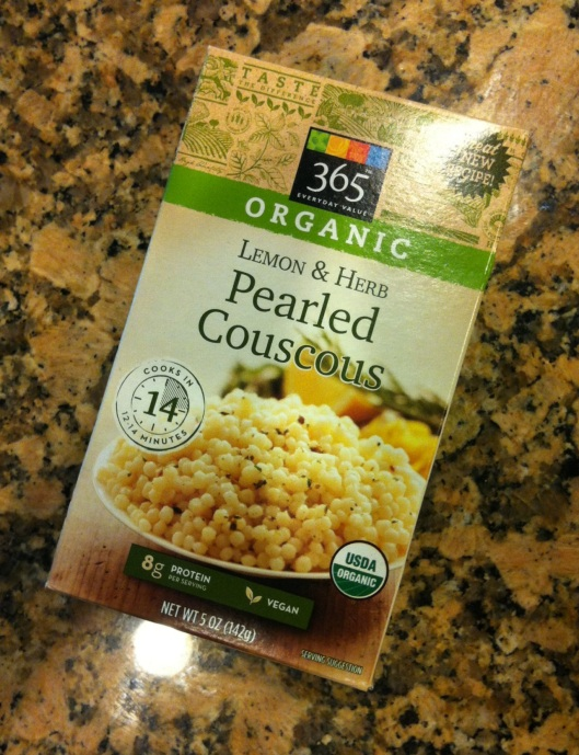 Lemon herb couscous from Whole Foods