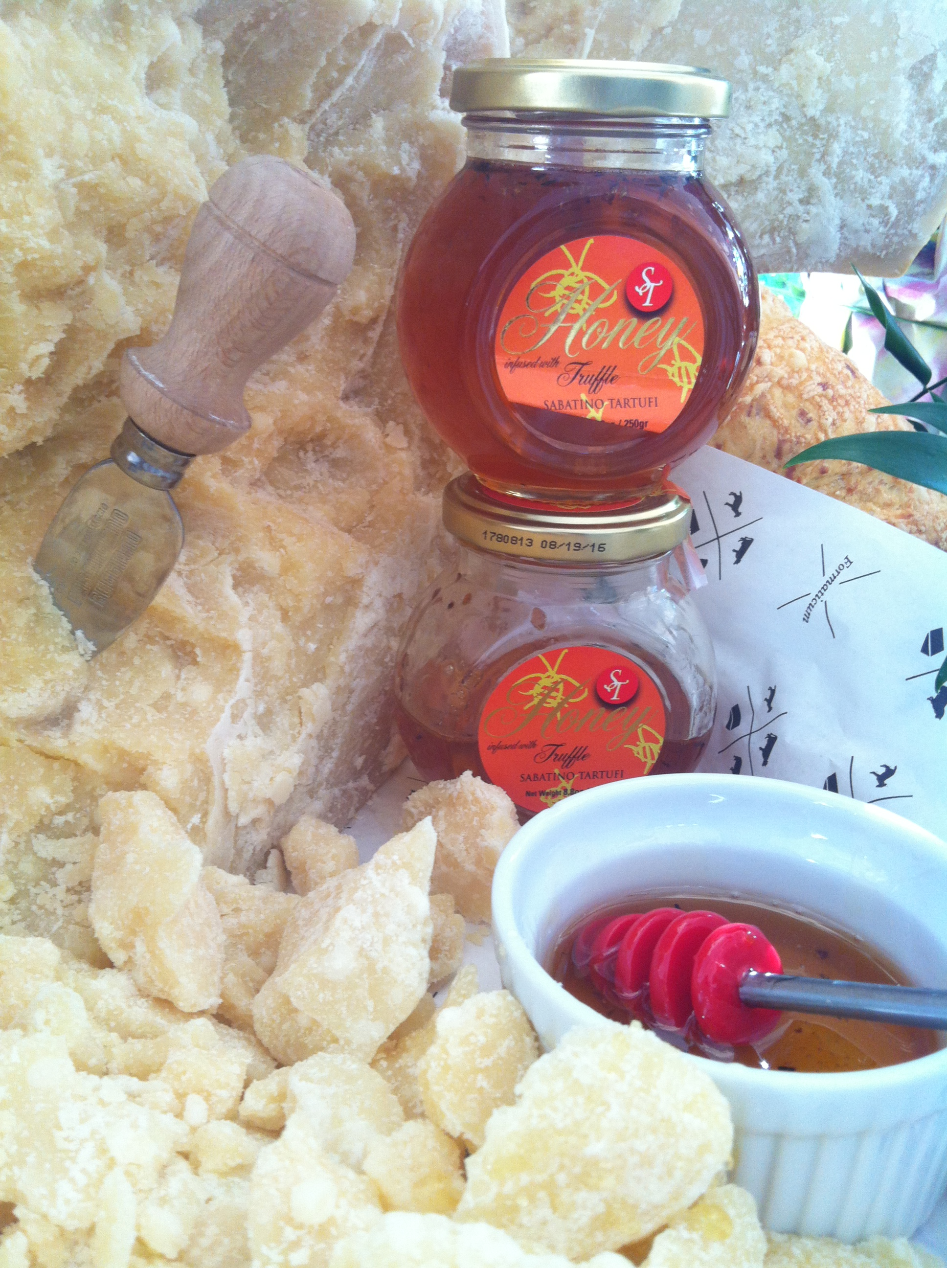 Truffle honey at Central Market's Passport Italy