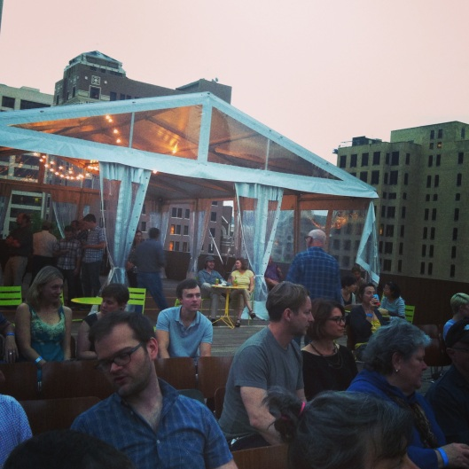 Rooftop film series at The Contemporary Austin