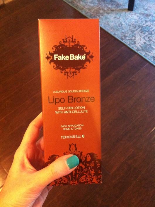 Anti-cellulite cream the actually works:  Lipo Bronze by Fake Bake