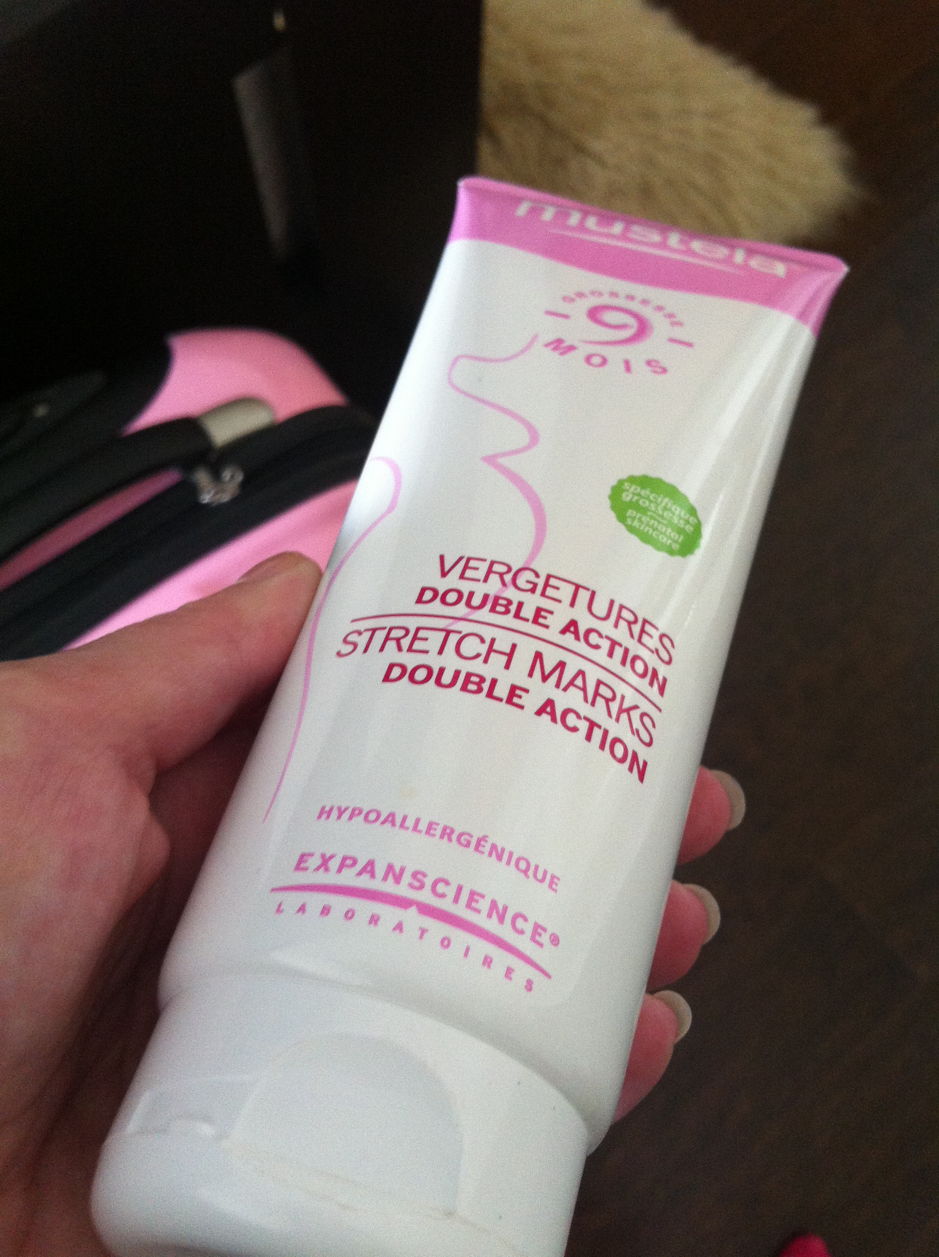 Mustela stretch mark prevention cream review