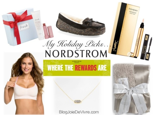 Holiday Picks:  Nordstrom Rewards