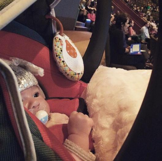 babys first church visit to Grace Covenant Church