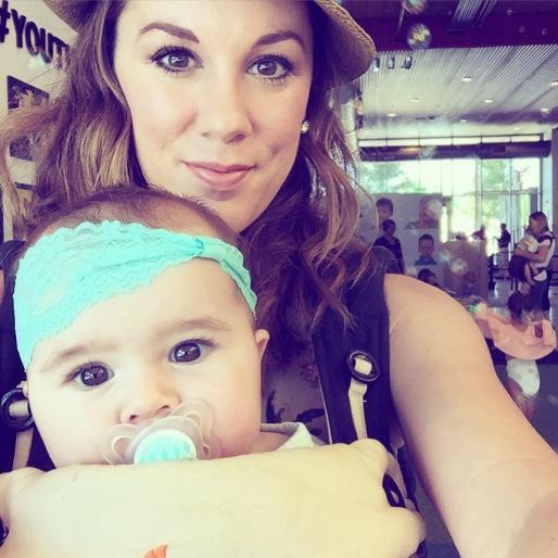 Mama & baby at Thinkery