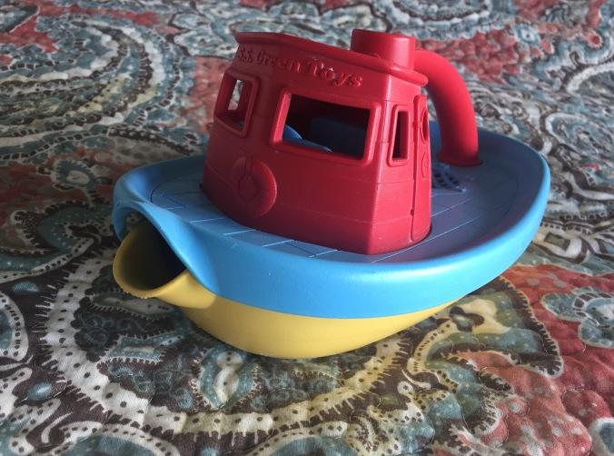 Toybrary boat