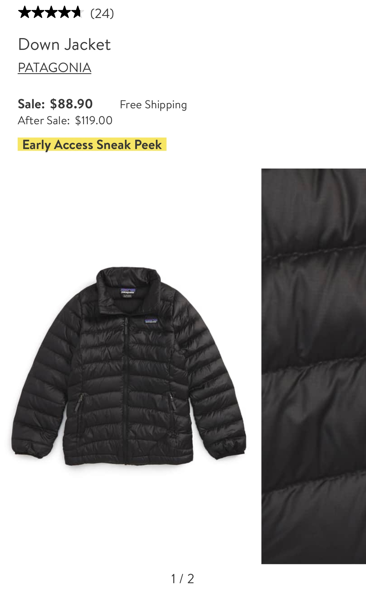 Girls Patagonia Jacket