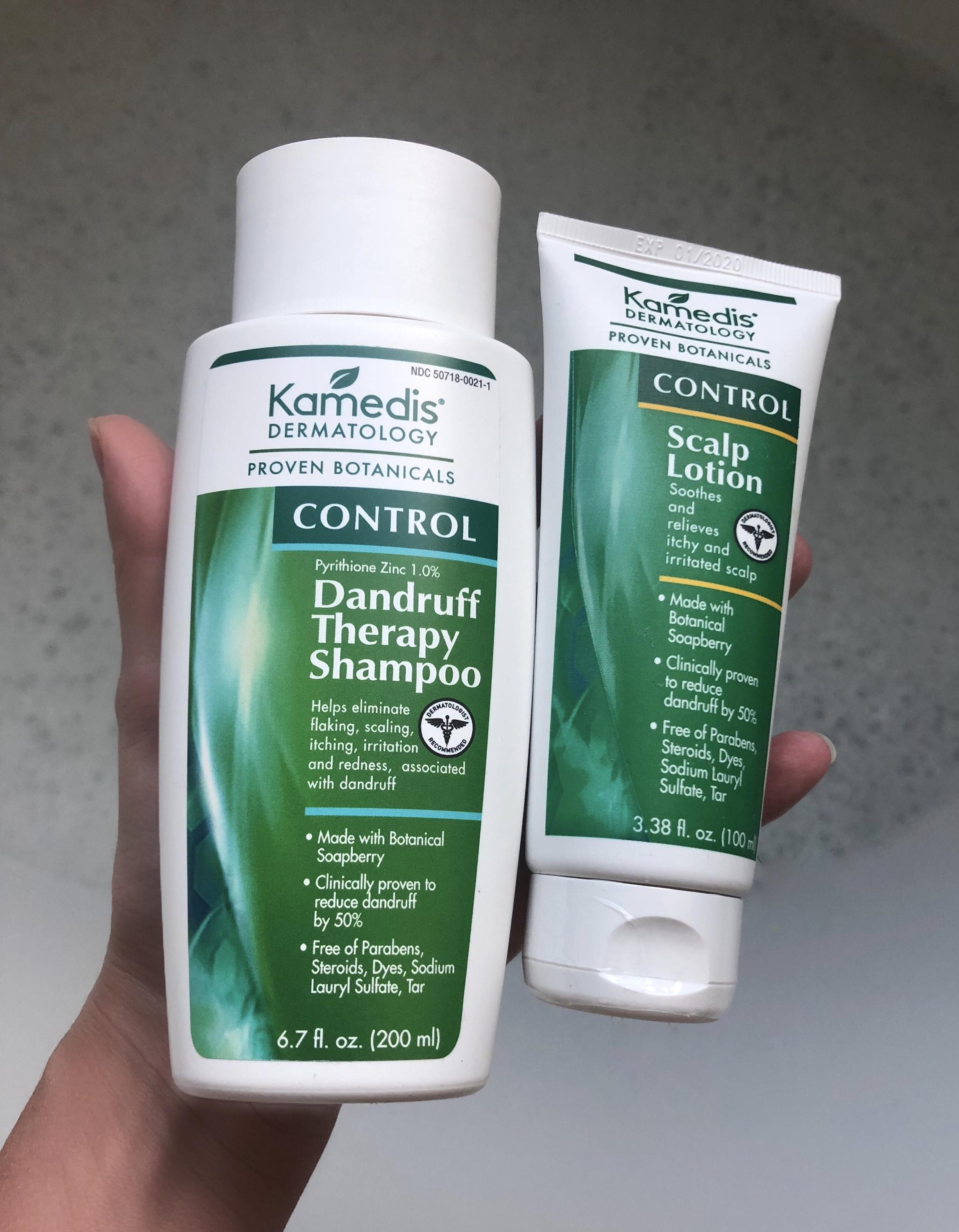 dandruff therapy shampoo